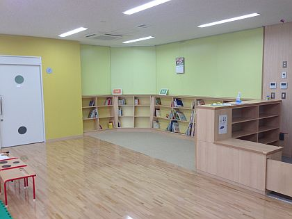 Baby feeding room and Kids library